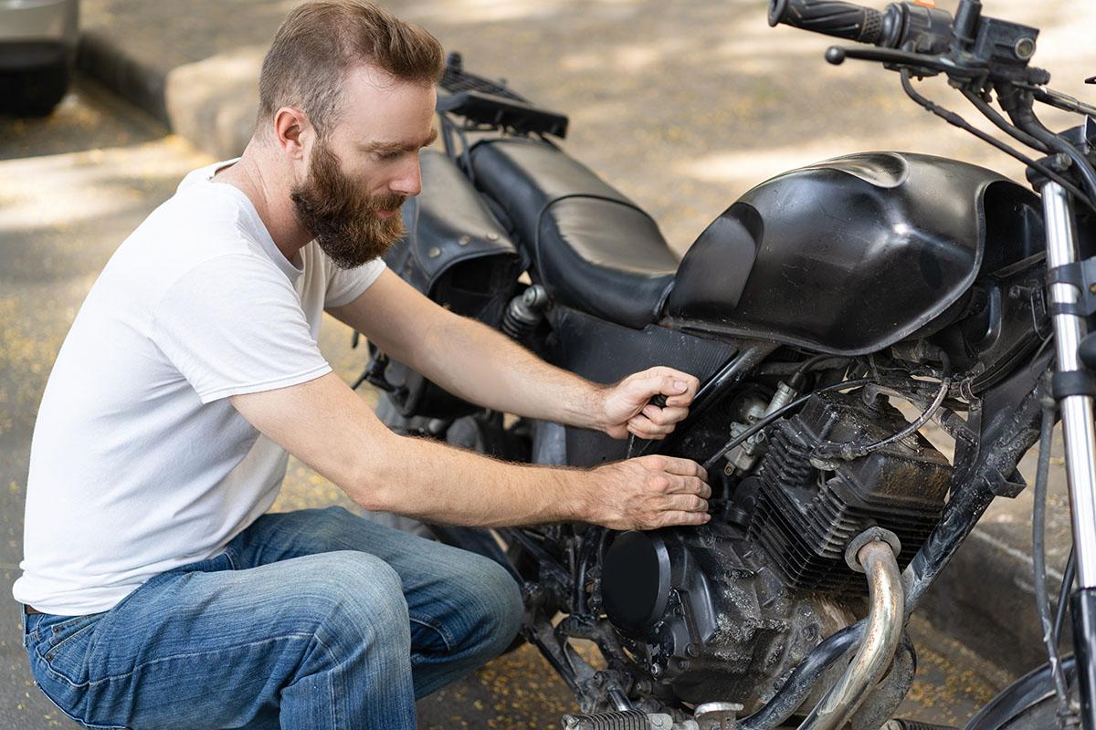fallas comunes en la motocicleta